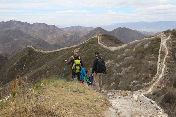 Continuing along the Great Wall - Stone Valley Great Wall Loop, 2016/4/16