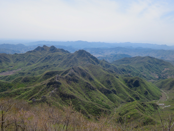 Nice views, otherwise! - Great Wall clean up hike for Earth Day, 2016/4/23
