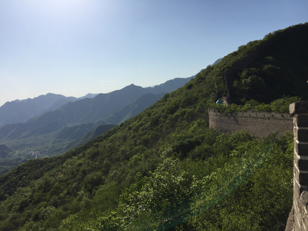 Views of the Great Wall - Camping at the Great Wall Spur, 2016/05