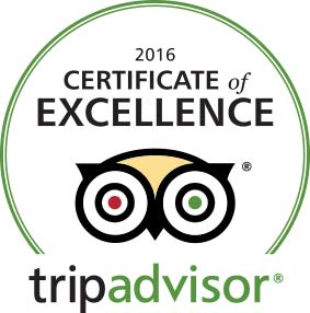 Beijing Hikers awarded TripAdvisor's Certificate of Excellence 2016