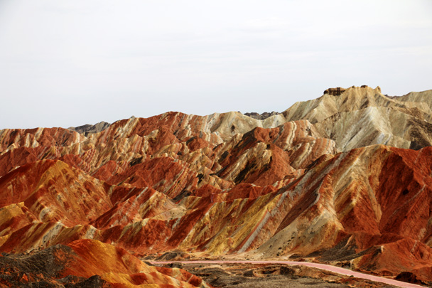 Amazing colours - Zhangye Danxia Landform and Jiayuguan, May 2016