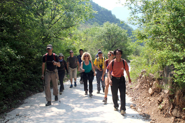 The Heituo Mountain hiking team - Heituo Mountain, 2016/05/21