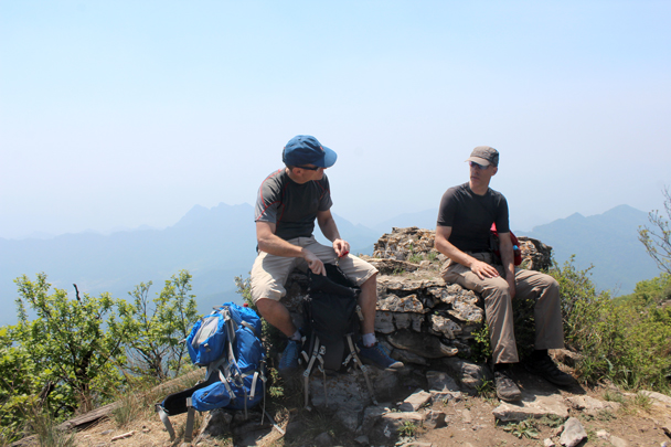 We stopped at the peak for our lunch break - Heituo Mountain, 2016/05/21