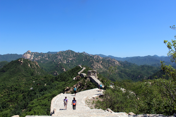 A perfect day for a hike - Longquanyu Great Wall to Little West Lake, 2016/05/26