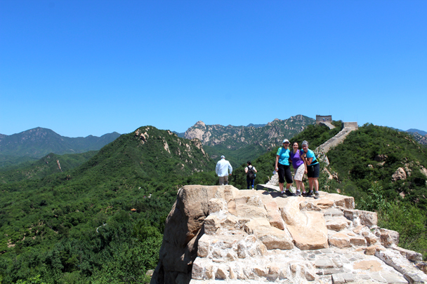 Photo break at the top - Longquanyu Great Wall to Little West Lake, 2016/05/26