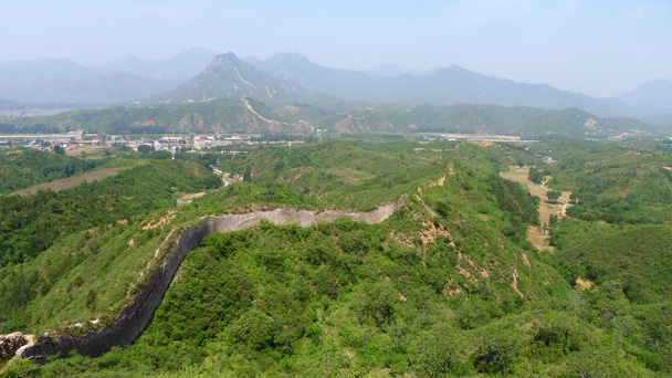 The Great Wall at Gubeikou - Gubeikou Great Wall to Jinshanling Great Wall, 2016/5/28