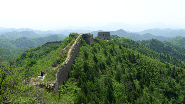 Great Wall and green hills - Gubeikou Great Wall to Jinshanling Great Wall, 2016/5/28