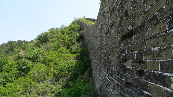 Later on, we got back up beside the wall - Gubeikou Great Wall to Jinshanling Great Wall, 2016/5/28