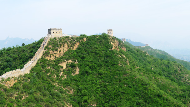 The top part of Jinshanling - Gubeikou Great Wall to Jinshanling Great Wall, 2016/5/28
