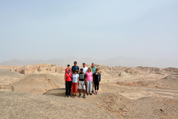Group photo! - Along the Silk Road from Korla to Kashgar, June 2016