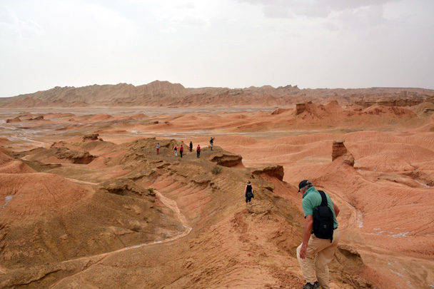 We could have been on Mars right here - Along the Silk Road from Korla to Kashgar, June 2016