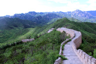 Sunset over the Huanghuacheng Great Wall, 2016/06/11