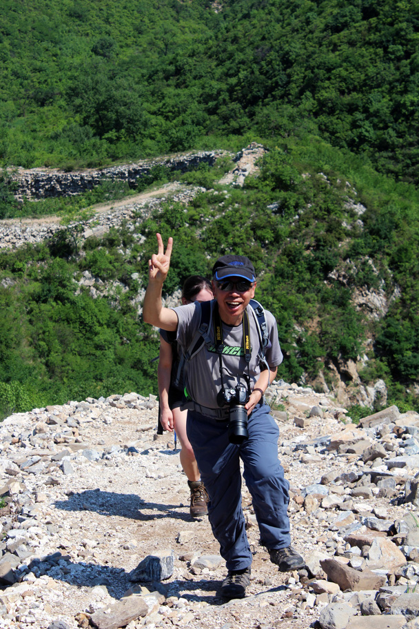 Super hiker Dennis - Switchback Great Wall, 2016/06/18