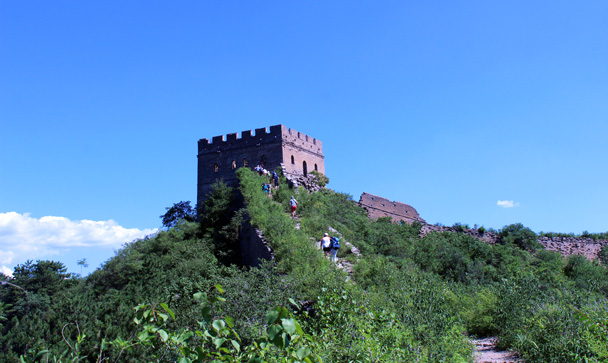 A tower at Jinshanling - Gubeikou to Jinshanling Great Wall, 2016/07/02