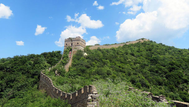Great Wall Spur hike, 2016/07/13