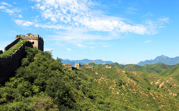 What a great day for a hike! - Hemp Village to Jinshanling Great Wall East, 2016/08/14