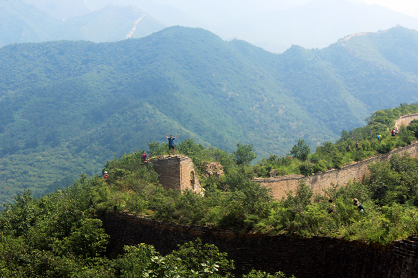 Yes! - Walled Village to Huanghuacheng Great Wall, 2016/08/24