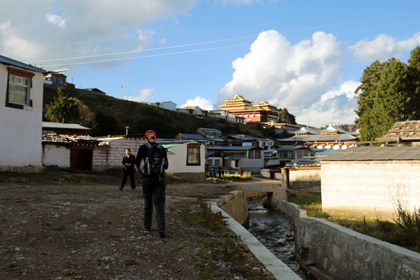 Walking through Langmusi Town - Xiahe, Labrang Monastery, and the Zhagana area in southern Gansu, September 2016