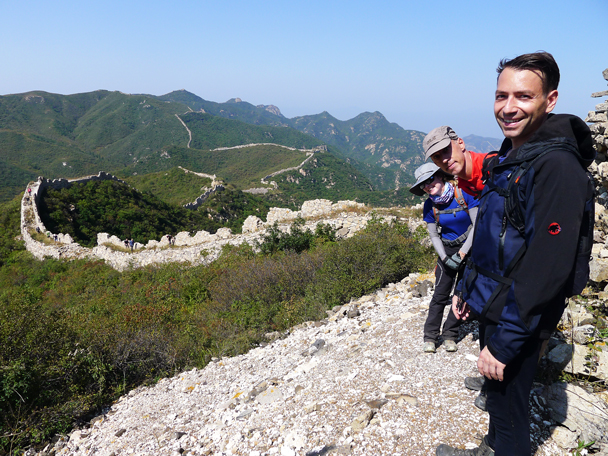 We hiked on after lunch - Yanqing Great Wall and High Tower Challenge, 2016/09/24