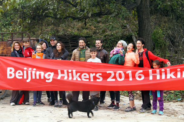 The big team is all back - 2016 Hiking Festival photos