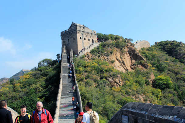 A wider view of the same tower - Jinshanling Great Wall to Gubeikou Great Wall, 2016/10/03