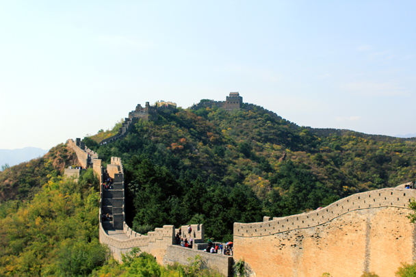 We'd hike further this way - Jinshanling Great Wall to Gubeikou Great Wall, 2016/10/03