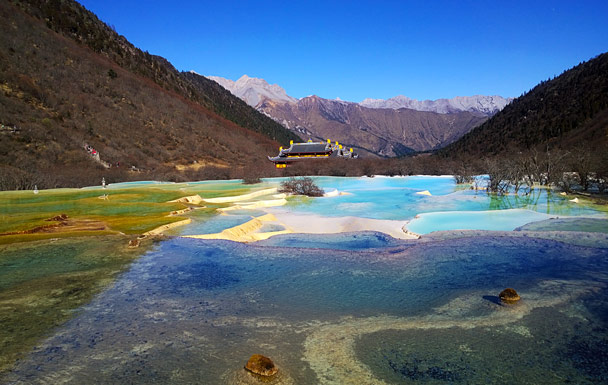 'Five-Colour' Pool - Jiuzhaigou and Huanglong National Parks, Sichuan, 2016/11