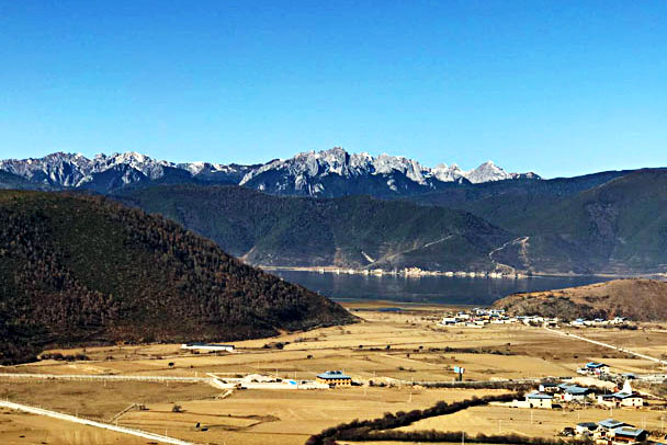Snow mountains near Shangri-La - Lijiang and Shangri-La, Yunnan Province, November 2016