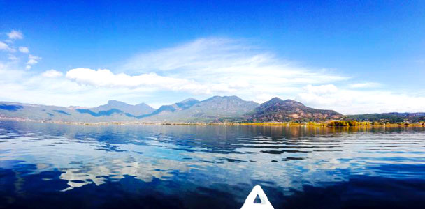 We went out on the lake - Lijiang and Shangri-La, Yunnan Province, November 2016