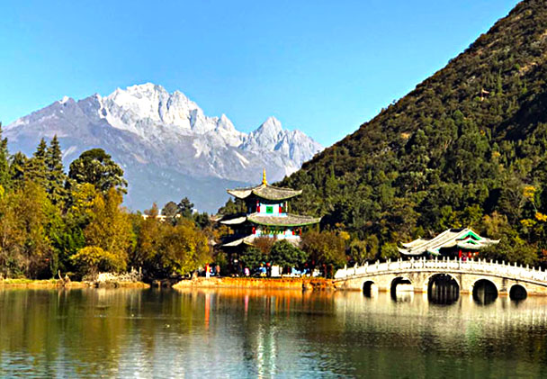 Jade Dragon Snow Mountain - Lijiang and Shangri-La, Yunnan Province, November 2016