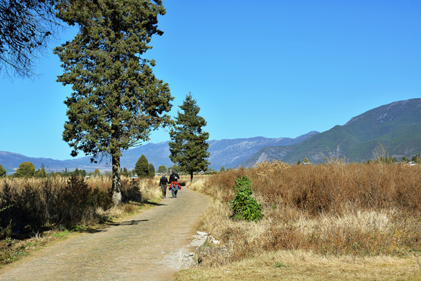 We hiked through the countryside - Lijiang and Shangri-La, Yunnan Province, November 2016
