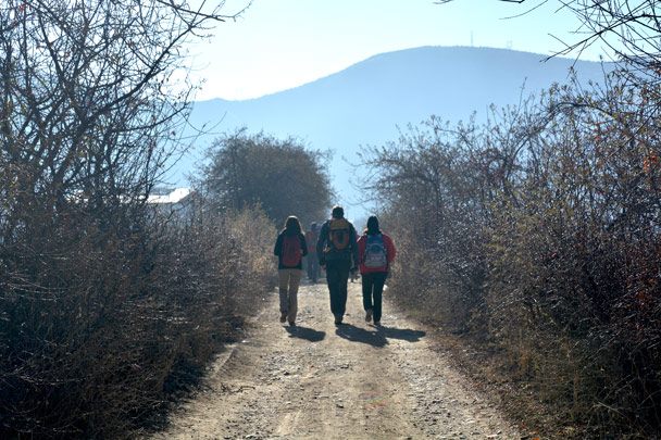 We're now in Shangri-La, on a hike to Songzanling Monastery - Lijiang and Shangri-La, Yunnan Province, November 2016