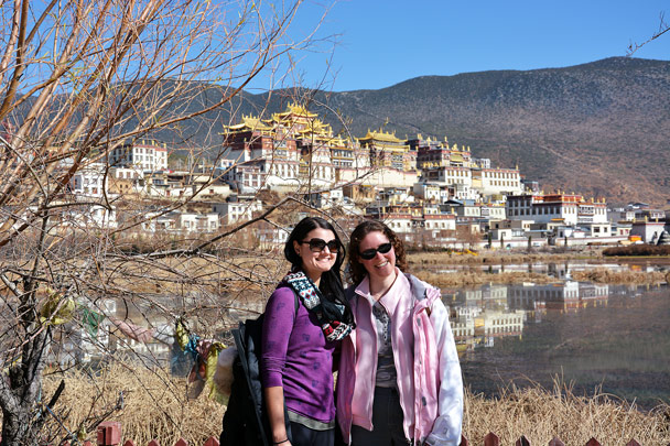 Great spot for a photo - Lijiang and Shangri-La, Yunnan Province, November 2016