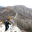 Stone Valley Great Wall snow hike, 2017/01/07