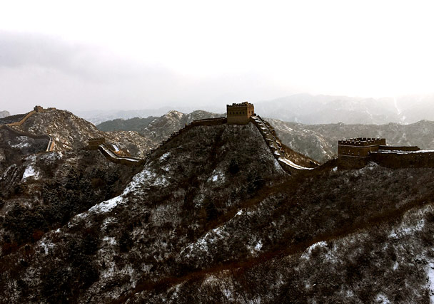 Views of the Jinshanling Great Wall - Hemp Village to Jinshanling Great Wall, 2017/1/15