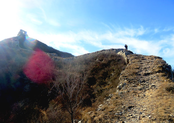 On the way up - Stone Valley Great Wall, 2017/1/27