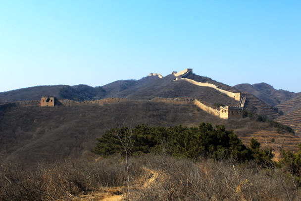 Getting closer - Hemp Village and the Gubeikou Great Wall, 2017/2/18