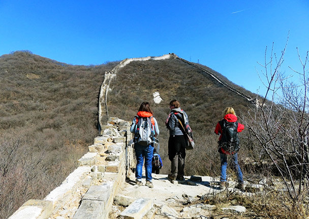 Approaching the Ox-Horn Bend - Jiankou to Mutianyu Great Wall, 2017/3/08