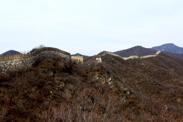 Looking back along the wall - Jiankou Big West Great Wall, 2017/3/11