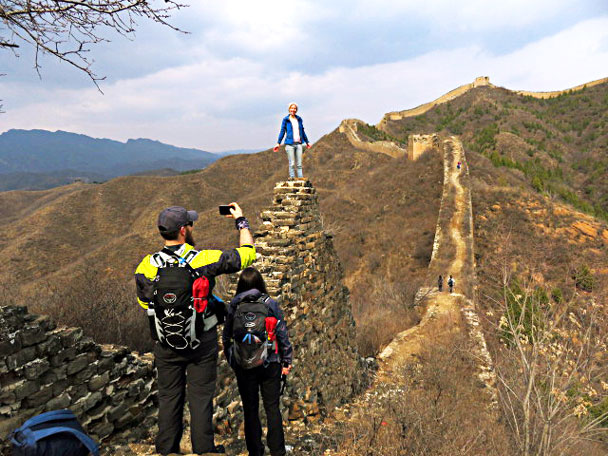 A new take on a location for a photo - Gubeikou and Jinshanling Great Wall camping, 2017/3/25
