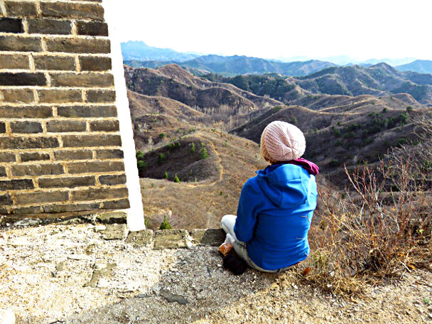 Enjoy the view - Gubeikou and Jinshanling Great Wall camping, 2017/3/25