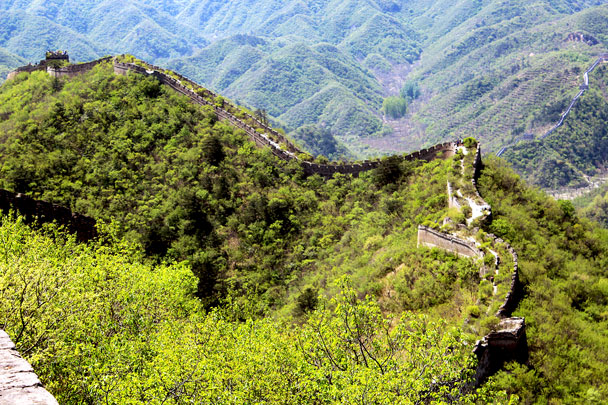More of the Great Wall - Walled Village to Huanghuacheng Great Wall, 2017/4/22