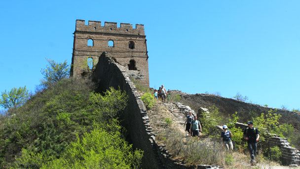 Hemp Village to Gubeikou Great Wall, 2017/4/23