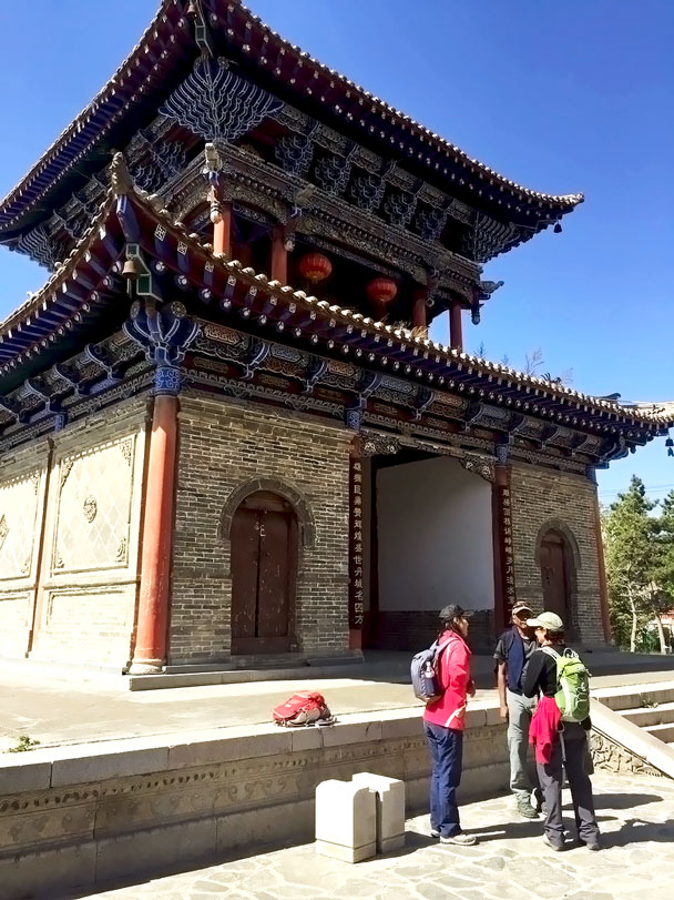 A big gate in the old town - Qinghai Lake, Kumbum Monastery, and the Gangshika Snow Mountain, Qinghai Province, 2017/05