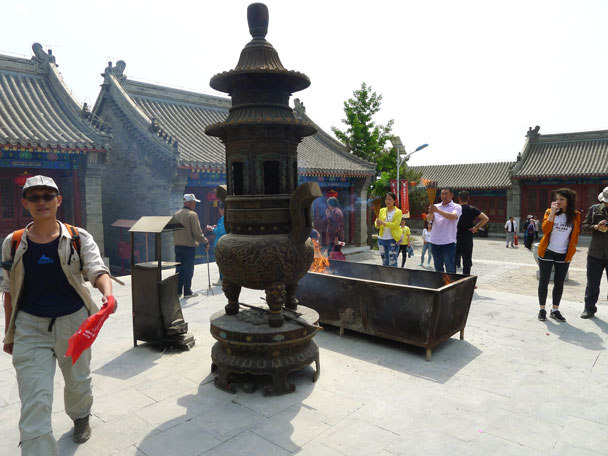 The big incense burner - Yajishan Temple Fair, 2017/5/1