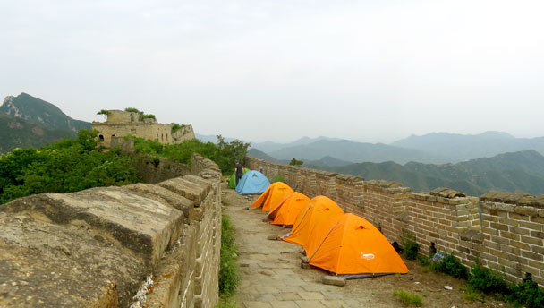 Great Wall Spur Camping Trip, 2017/05/29
