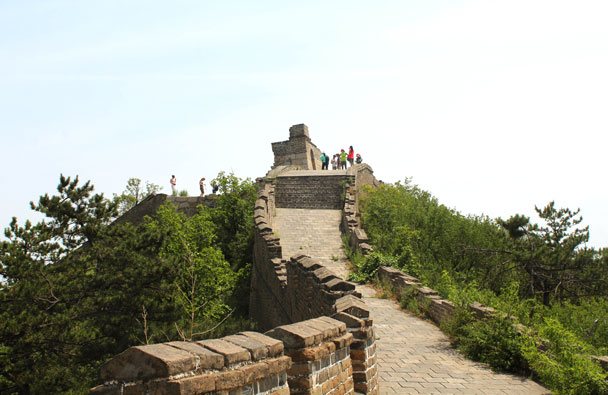 Here's the peak - Walled Village to Huanghuacheng Great Wall, 2017/6/3