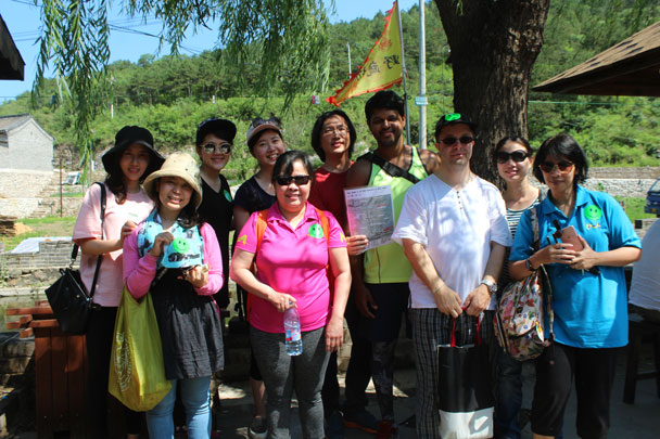 Team Green - Teambuilding for Merck with Great Wall hike and treasure hunt, 2017/7/7