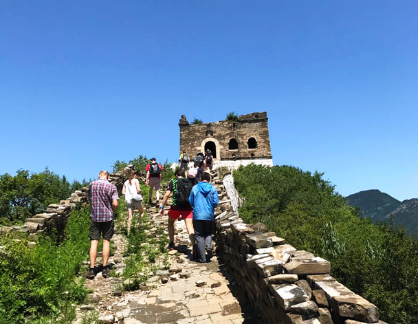 Zhenbei Tower - Jiankou to Mutianyu Great Wall, 2017/7/8