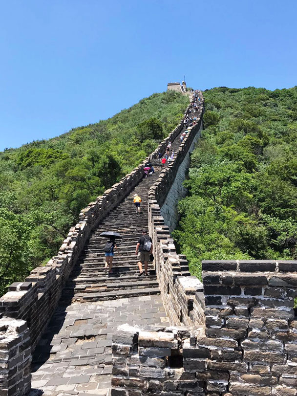 And again - Jiankou to Mutianyu Great Wall, 2017/7/8